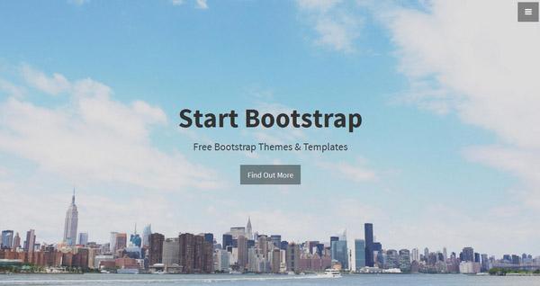 Responsive Business Portfolio Template: Agency