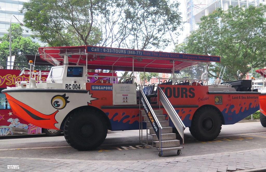 [新加坡自由行]鴨子船-輕鬆逛新加坡著名景點就靠它了~ - FunTime旅遊推薦