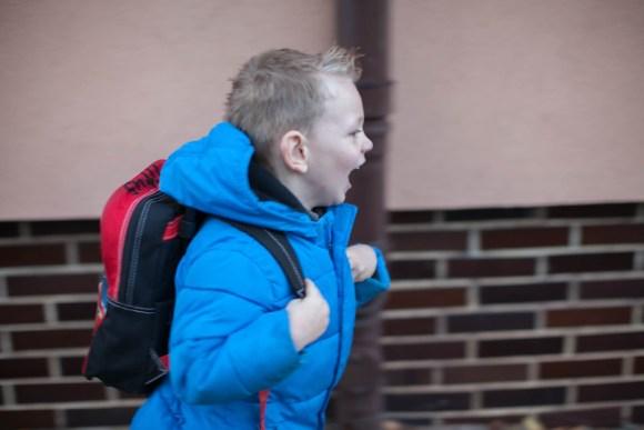 Titus Goes to School (10/15/14)