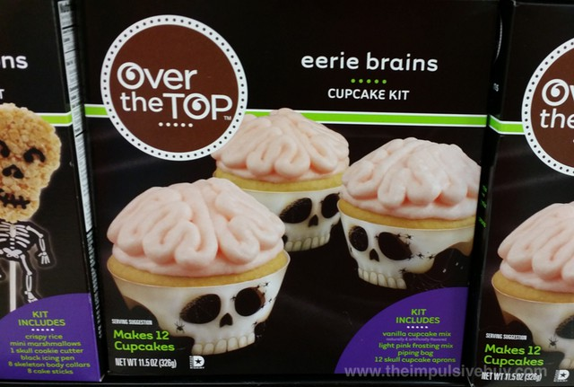 Over the Top Eerie Brains Cupcake Kit