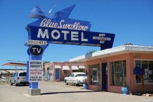 Nouveau-Mexique - Blue Swallow Motel