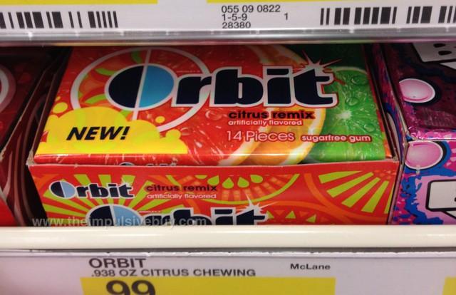 Wrigley's Orbit Citrus Remix Gum