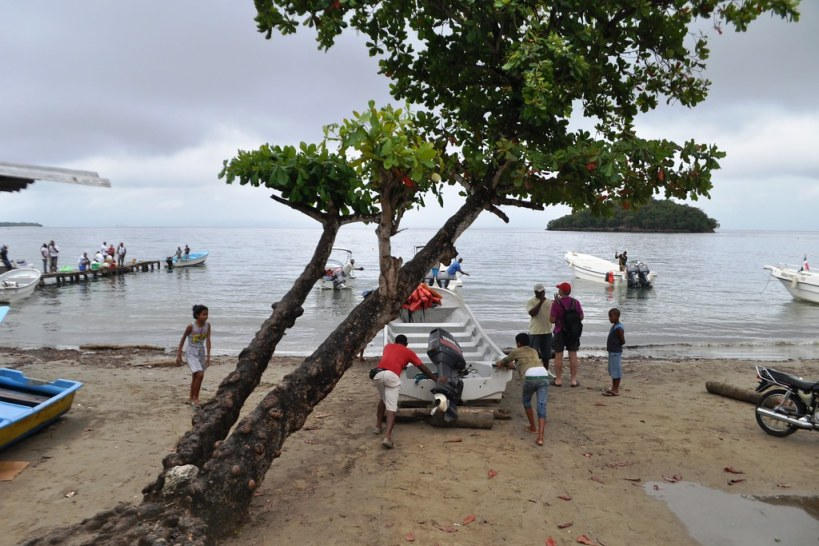 Departure Point for the Humpback Whale Watching Excursion in Samaná Bay, Dominican Republic