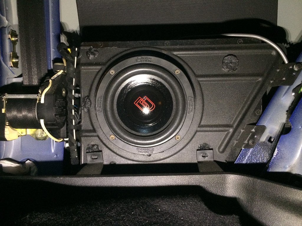 Amp Radio Subwoofers Wiring Vwvortex Com Fs Mkiv 2 Door Golf R32 Stealth 6 5 Quot Sub