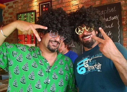Rocky And Mayur At Oh So Stoned