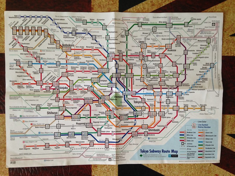 Tokyo Subway Map Keikyu Asakusa Mita.How To Ride The Tokyo Metro