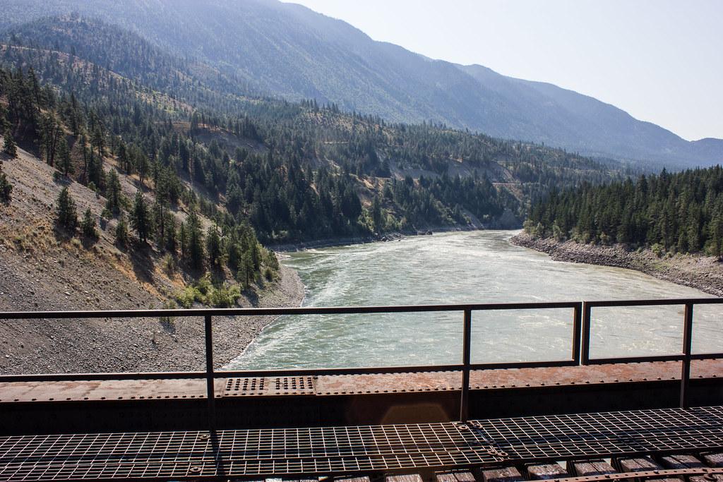 Lytton British Columbia Fraser River Bridge