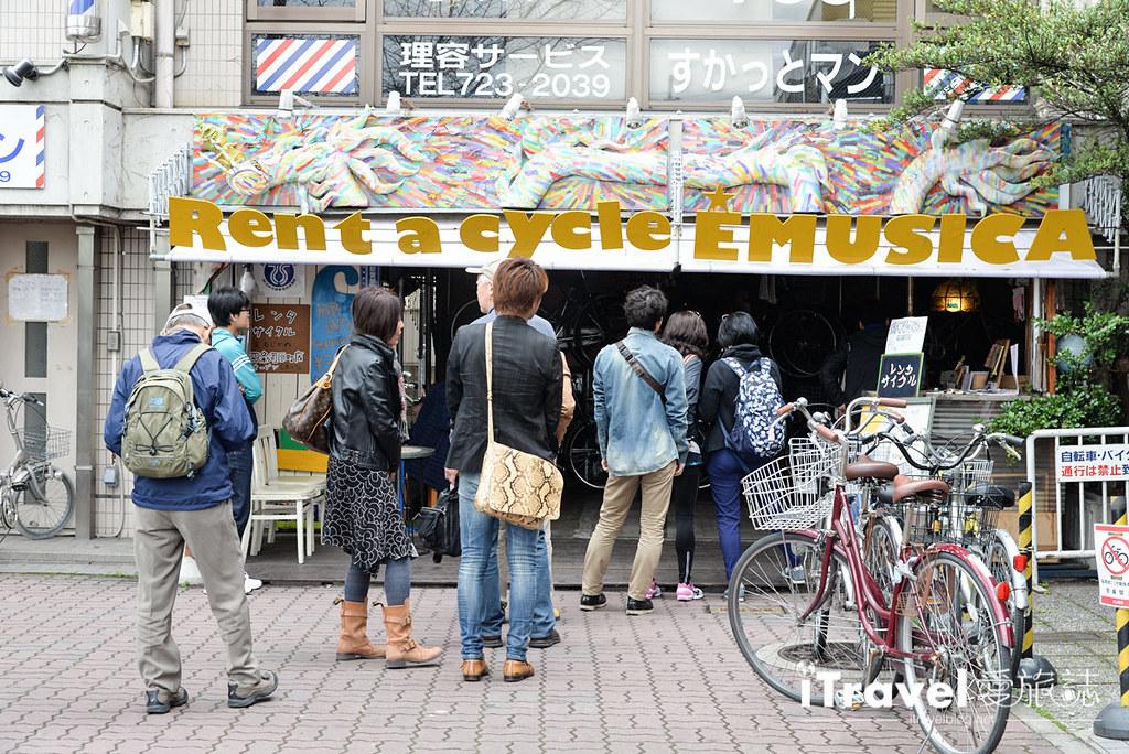 京都脚踏车出租 Rent a cycle EMUSICA (2)