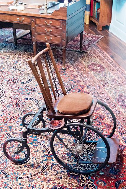An FDR designed wheelchair.