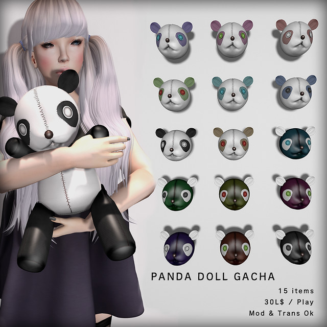 PANDA DOLL GACHA