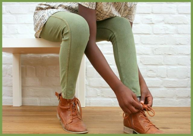 A-lijn jurk (sitting)