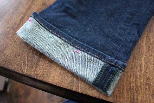Easy Way Shorten Jeans