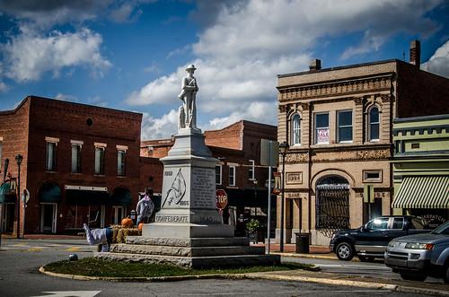 Eatonton Confederate Monument