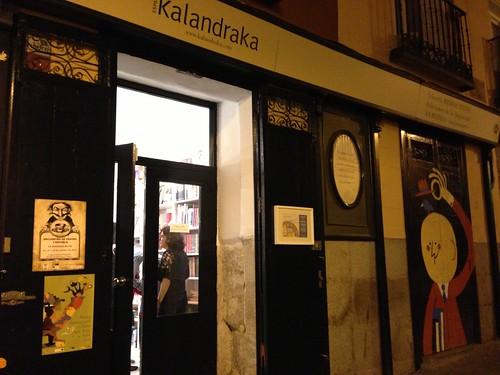 Kalandraka, Barrio de las Letras. Madrid