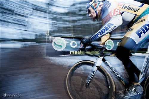 Bart Wellens in action