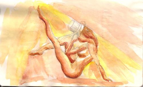Burlesque Sketch 06