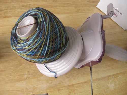 yarn winder - 1st try