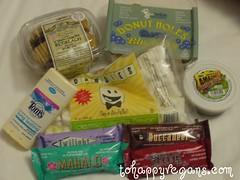 m_tohappyvegan's vegan treats