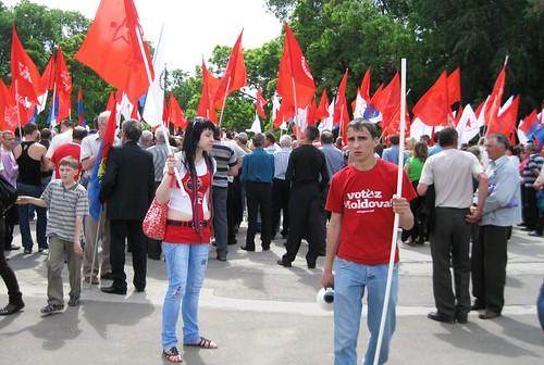 Protest Comunist