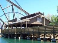 Cedar Point - Shoot the Rapids Station