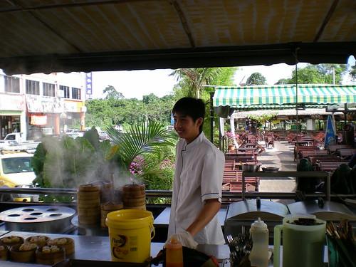 Farley dim sum - the chef