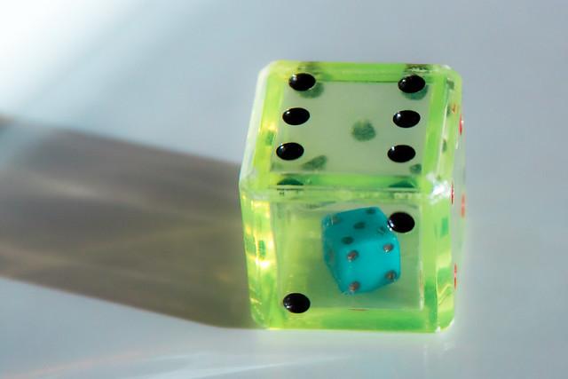 {310/365} dice