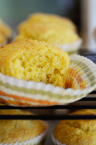 Sweet Corn Bread Muffins