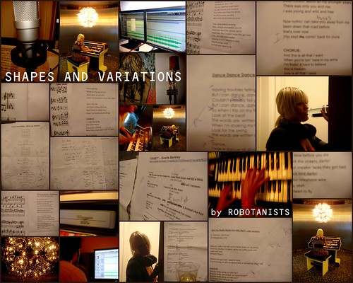 "ROBOTANISTS: Recording ""Shapes and Variations"" Covers  Album / Fall 2009"