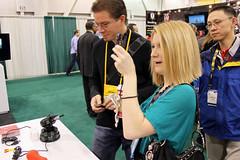 Amanda Coolong Interviewing at CES