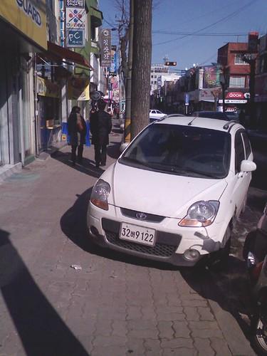 Korean drivers, just dumb