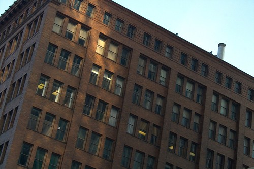 Large brick building