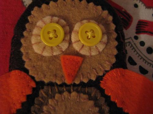 owl face.