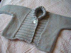 Ribbed Baby Jacket - FO