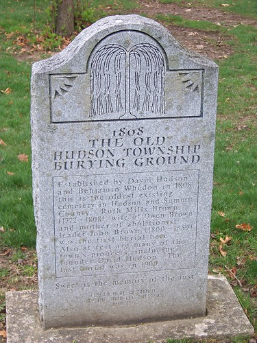 The Old Hudson Township Burying Ground
