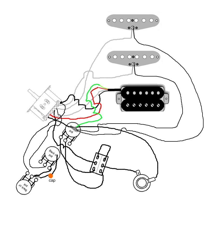 Wiring Diagram For Dean Flying V Guitar, Wiring, Free