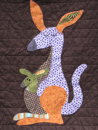 Kangaroo applique