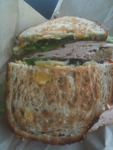 Homegrown Turkey Sandwich