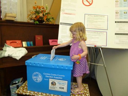 We voted!