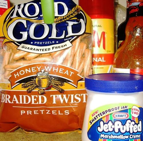 pretzels & marshmallow creme