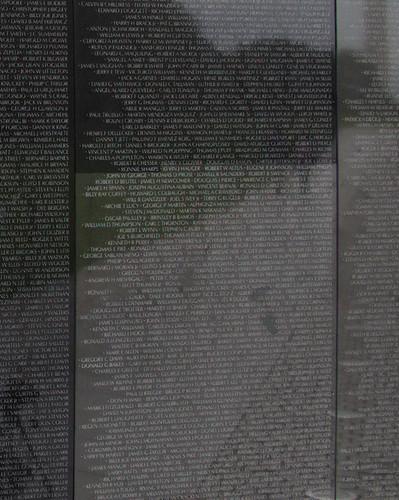 7274 Ronnie Sharpe, Vietnam Memorial, Washington, DC