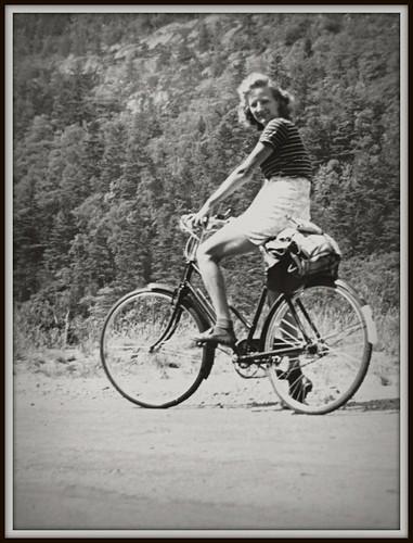 1946 Bike Trip in Maine
