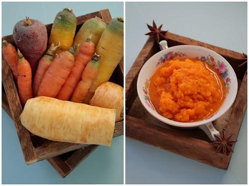 Carrots, Parsnips and Pumpkin