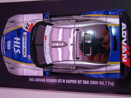 EBBRO HIS ADVAN KONDO GT-R SUPER GT 500 2009 RD.7 FUJI (9)