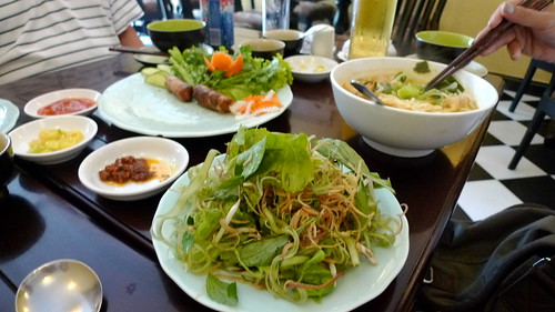 vegetarian lunch ho chi minh city