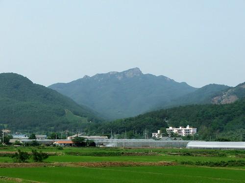 Korea's Kamaksan Mountain