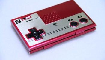 NES Card Case Front