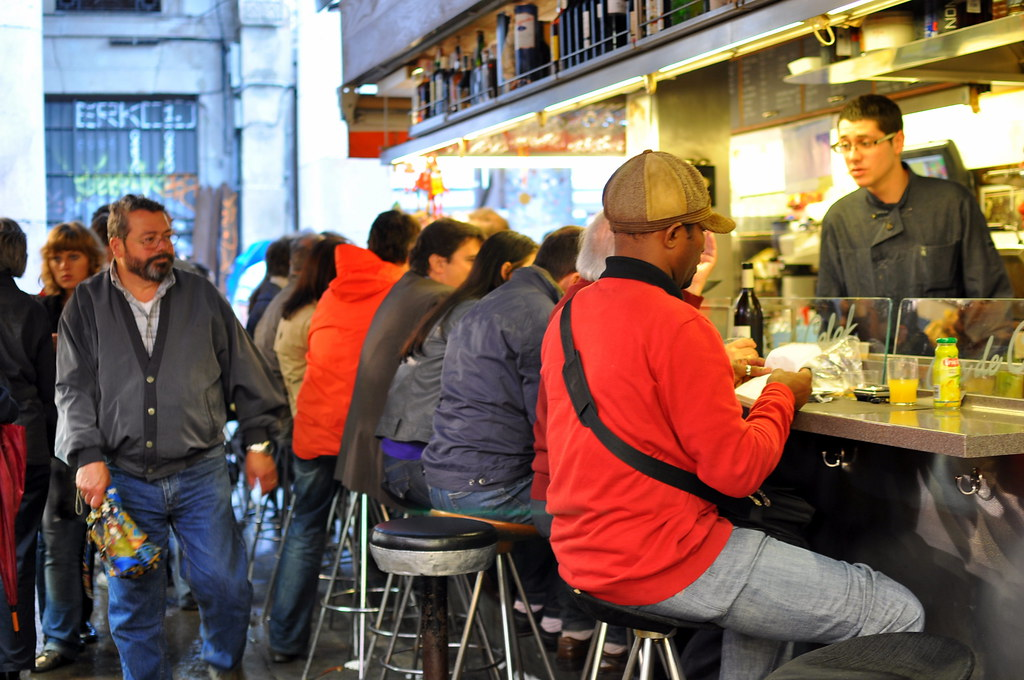 Spots to Visit in Barcelona, Spain: Bar Pinotxo - Barcelona