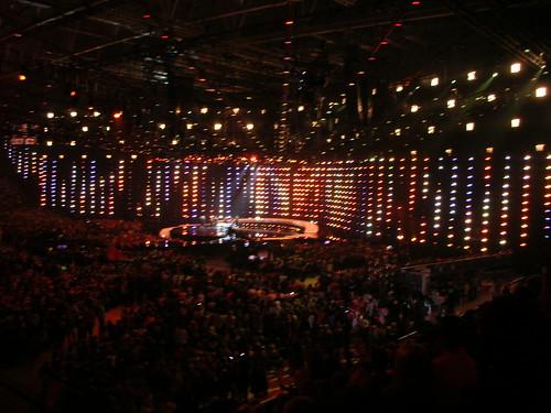 Telenor Arena comes alive