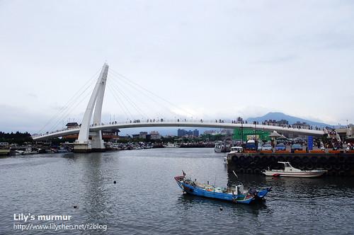 漁人碼頭與情人橋。