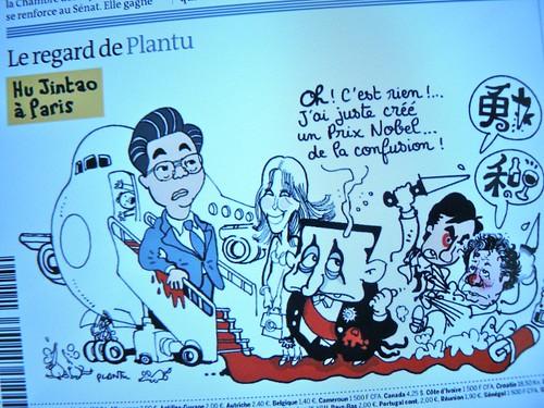 Plantu - Le Monde 5 nov 2010
